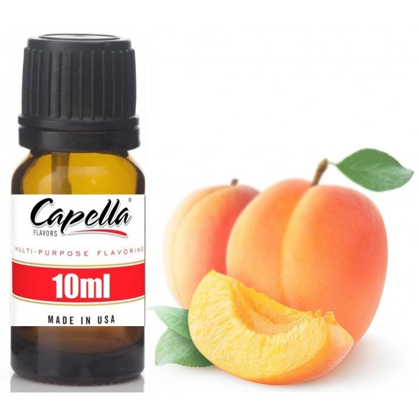 Capella Apricot 10ml Flavor  (Rebottled)