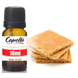 Capella Graham Cracker v2 10ml Flavor  (Rebottled)