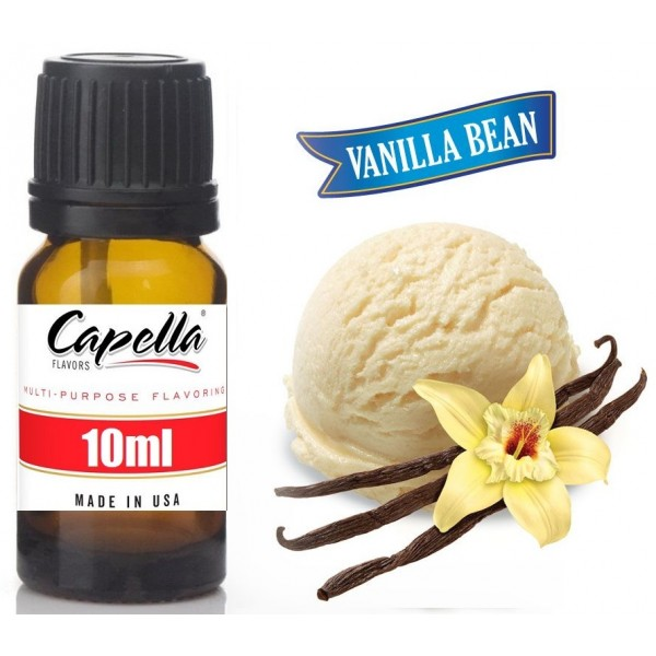 Capella Vanilla Bean Ice Cream 10ml Flavor  (Rebottled)