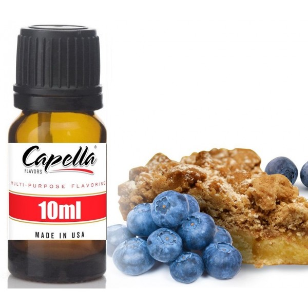 Capella Blueberry Cinnamon Crumble 10ml Flavor  (Rebottled)