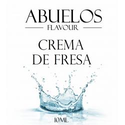 Abuelos Crema De Fresa 10ml Flavour