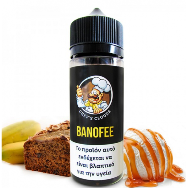Blackout Chef's Cloud - Banoffee 120ml