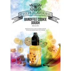 Chefs Flavours Banoffee Cookie Dough 30ml