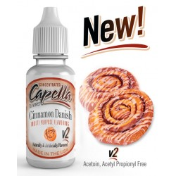 Capella Cinnamon Danish V2 Flavor  13ml