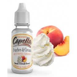 Capella Peaches and Cream Flavor  13ml
