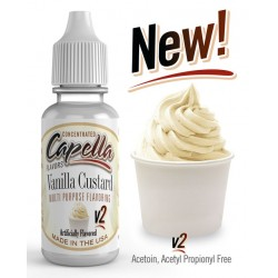 Capella Vanilla Custard v2 Flavor  13ml