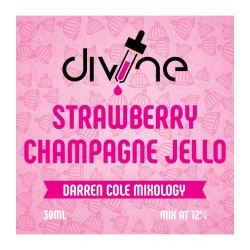 Strawberry Champagne Jello By Divine