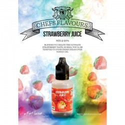 Chefs Flavours Strawberry Juice 30ml