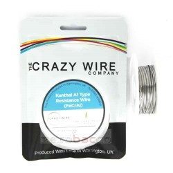 KANTHAL A1 ™ (FeCrAl Alloy) Wire 10meters By Crazy Wire