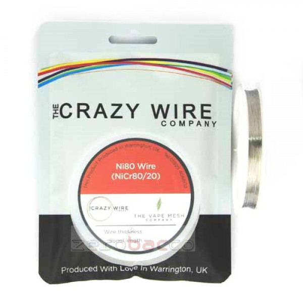 Fused Clapton Coil Wire Ni80 5meters By Crazy Wire