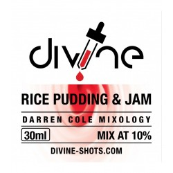 Rice Pudding and Jam By Divine