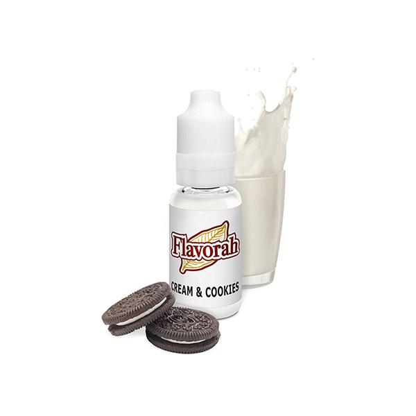 Flavorah Cream and Cookies 15ml Flavor