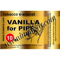 Inawera Vanilla For Pipe 10ml Flavour