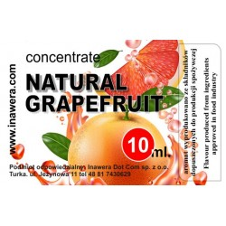Inawera Natural Grapefruit 10ml Flavour