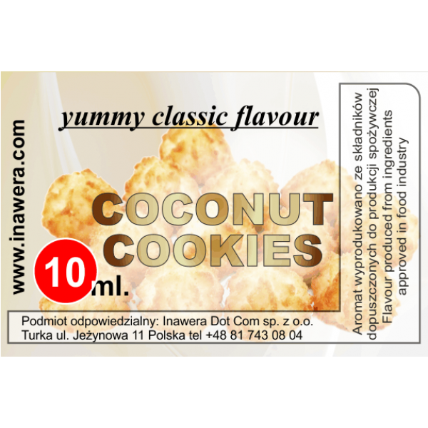 Inawera Coconut Cookies 10ml Flavour