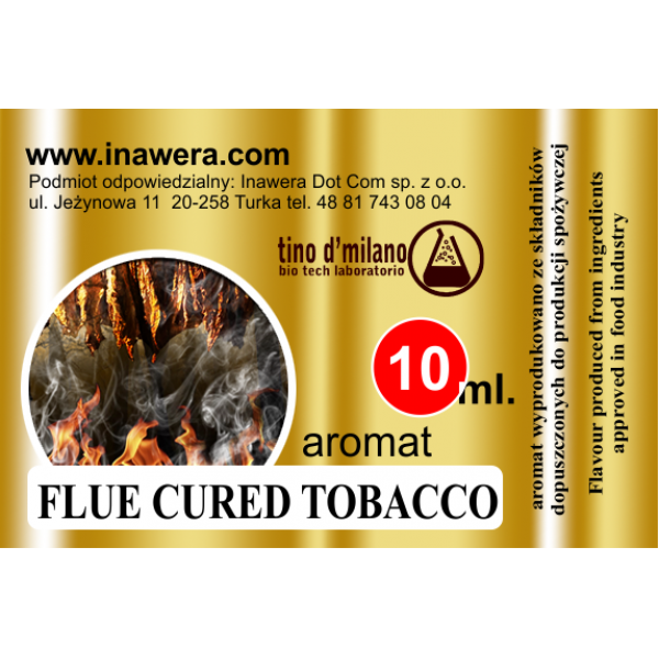 Inawera Flue Cured Tobacco 10ml Flavour