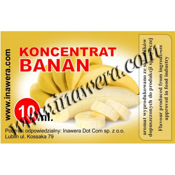 Inawera Banana 10ml Flavour