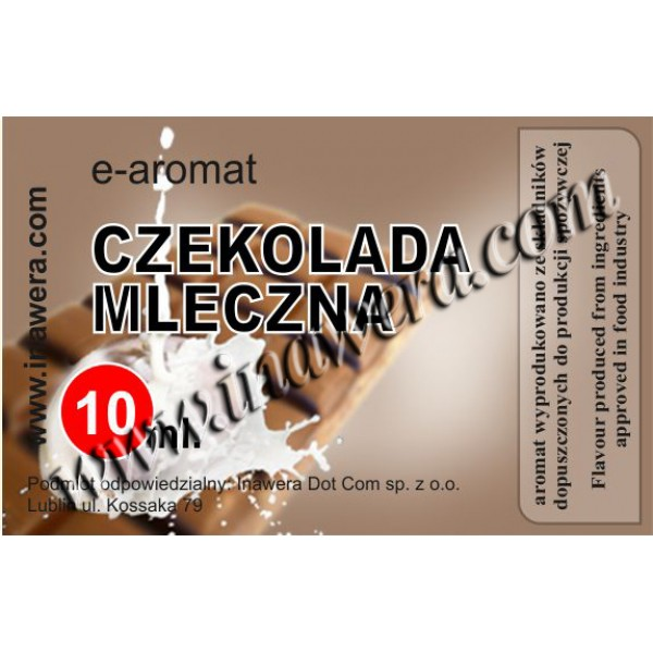 Inawera Milk Chocolate 10ml Flavour