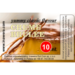 Inawera Yummy Classic Creme Brulee 10ml Flavour