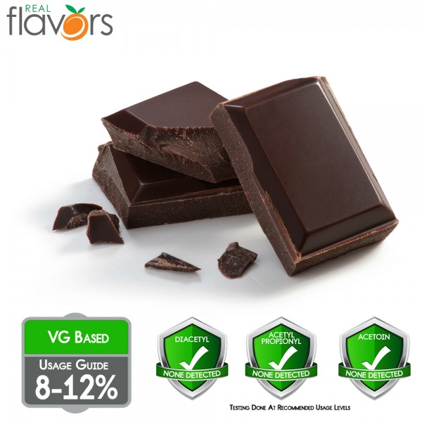 Real Flavors Chocolate 10ml Flavor (Rebottled)