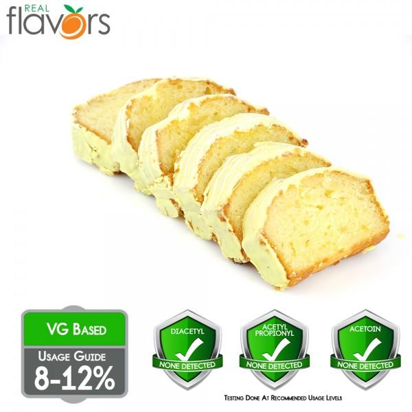 Real Flavors Lemon Cake 10ml Flavor (Rebottled)
