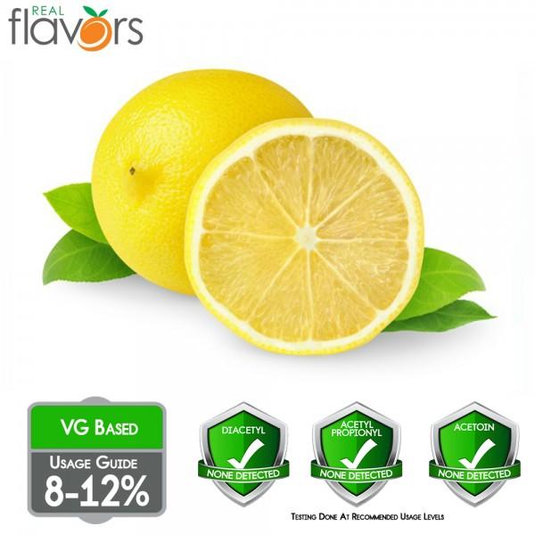 Real Flavors Lemon 10ml Flavor (Rebottled)