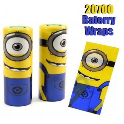 Battery Wraps For 20700/21700 Batteries