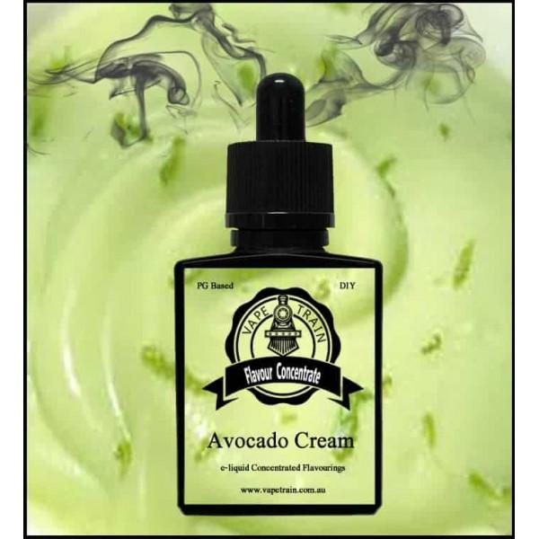 Vape Train Avocado Cream 10ml Flavor (Rebottled)