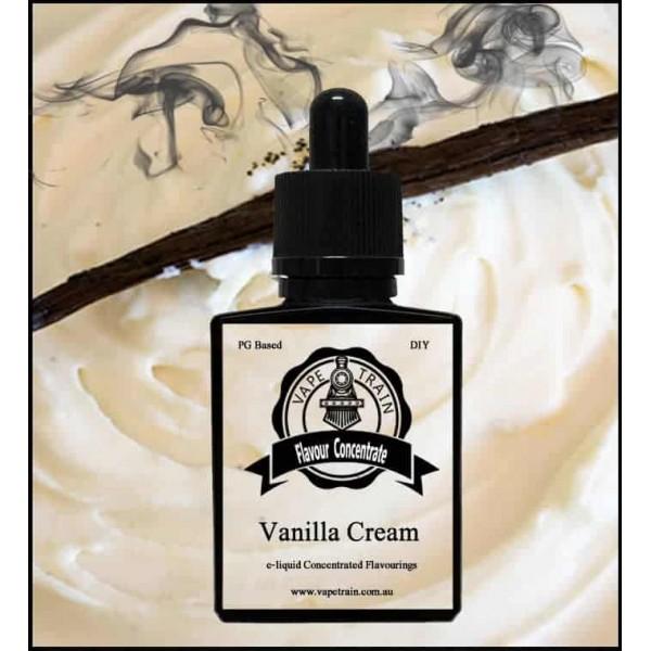 Vape Train Vanilla Cream 10ml Flavor (Rebottled)