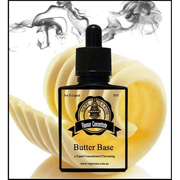 Vape Train Butter Base 10ml Flavor (Rebottled)