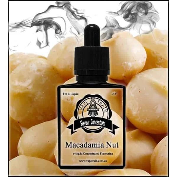 Vape Train Macadamia Nut 10ml Flavor (Rebottled)