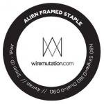 Alien Framed Staple by Wiremutation