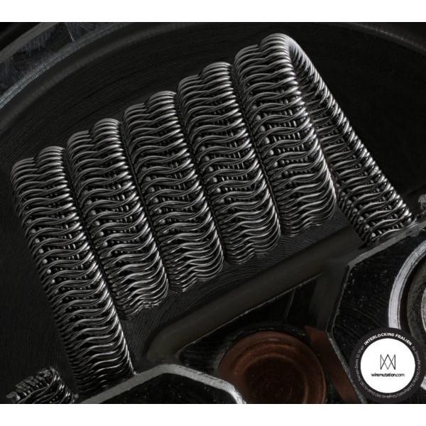 Interlocking Alien Framed Staples by Wiremutation