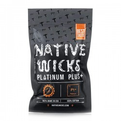 Native Wicks Platinum Plus+ Cotton