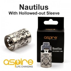 Replacement Strainless Steel Hollow Tank for Aspire Nautilus